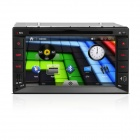 "Freudige J-2615MX 6.2 ""Touch Screen Auto-Recorder w / DVB-T, DVD, GPS, FM / AM, Bluetooth, AUX - Schwarz"