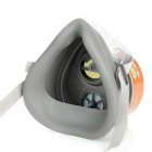 N3600 360 Degree Anti-Dust Single Chemical Gas Respirator Mask - Grey