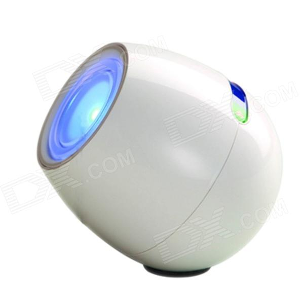 ZLY-6601 Rechargeable 3W 150lm 200K 256-Color Touch Magic Colorful Changing Lantern - White