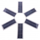 ST-65X166 12V 100mA Solar Power Panels - Blau + Weiß (166mm x 65mm / 6 PCS)