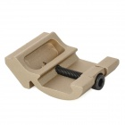 EX 260 Aluminum Alloy Flashlight / Gun Scope Sight Mount for M4 / M16 + More - Champagne