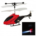 Ultra-Mini 3.5-CH IR Remote Control ABS R/C Helicopter - Red + Black + White
