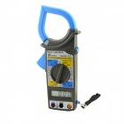 "DM6266 1.9"" LCD Multifunctional Digital Clamp Multimeter - Blue + Army Green (1 x 9V 6F22)"