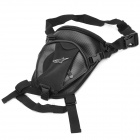 Outdoor Cycling Motorcycle Water Resistant Waist / Leg Bag - Black