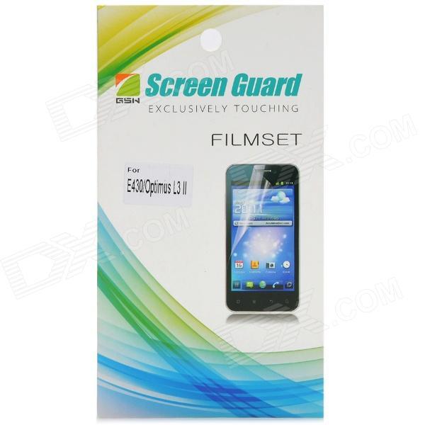 Protective PE Screen Protector Guard Film for LG E430