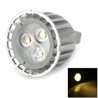 GU5.3 6W 210lm 3200K Warm White Light Spotlight - Grey