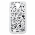 Cute Cartoon Patterns Protective Plastic Back Case for Samsung Galaxy S4 / i9500