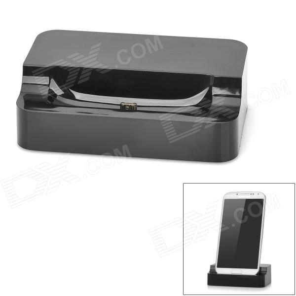 Mini Data Transfer & Charging Dock Station  for Samsung i9500 / i9190 / i8190 - Black аксессуар защитная пленка asus zenfone 3 ze520kl luxcase front