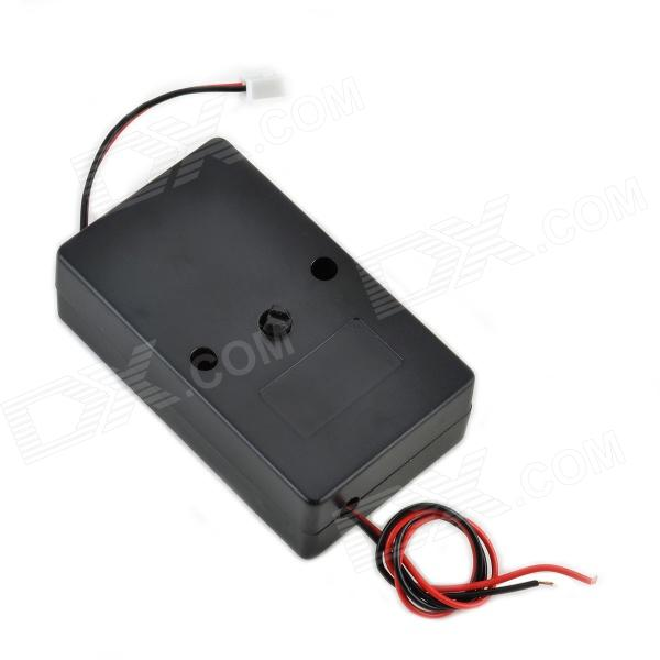 12V 0.8A Low-Power Rotary Button Musical Sound Controller - Black