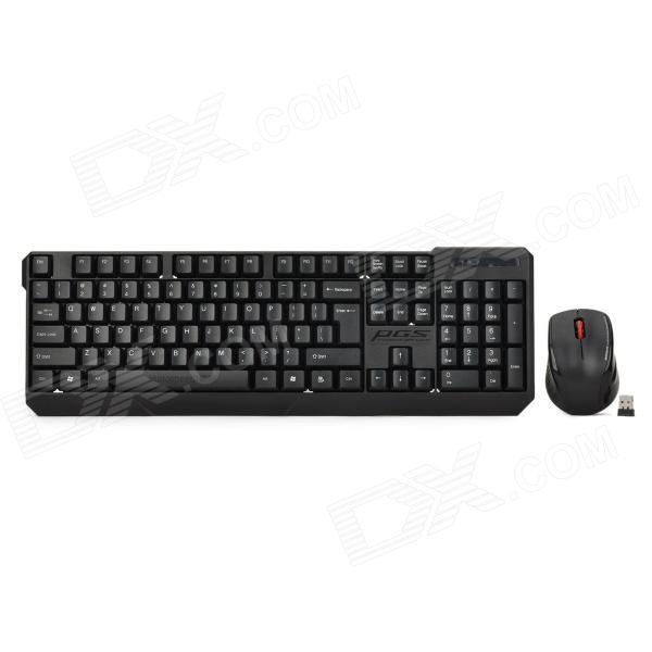 Motospeed G7000 Wireless 104-Key Keyboard w/ 1000dpi Mouse motospeed g310 fashion wireless 1000dpi optical mouse black red 1 x aa