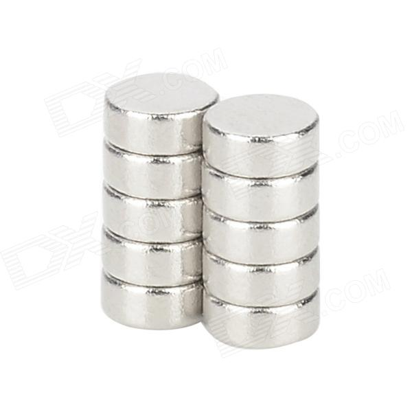 10050035W 5 x 2mm Round Magnet - Silver (10 PCS)