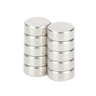 5 x 2mm Round Magnet - Silver (10 PCS)