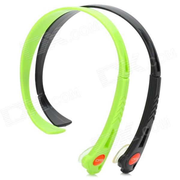 Universal Wireless Hands-free Headband Headphone - Black + Green (2 PCS) trendwoo® twins bluetooth wireless speaker support 2 0 left and right stereo sound surround with built in microphone hands free music player