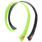 Universal Wireless Hands-free Headband Headphone - Black + Green (2 PCS)