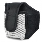 Outdoor Sports Armband Pouch for Cell Phones - Black