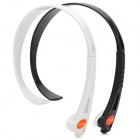 Universal Wireless Hands-free Headband Headphone - Black + White (2 PCS)
