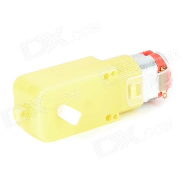 DIY TT Motor for Robot Intelligent Car - Yellow