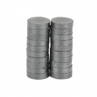 7.5 x 1.9mm Round Ferrite Magnet - Black (20 PCS)