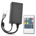 1000W 220V High Voltage LED Light Controller w/ RGB Remote Controller - Black (EU Plug)