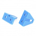 1202 DIY Model Plastic Corner Bracket - Blue (2 PCS)