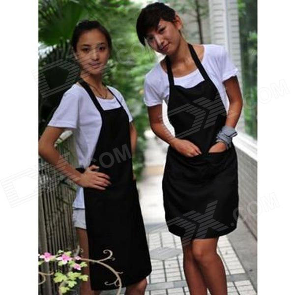 WQ002 Kitchen Oil-Proof Cloth Apron - Black электрический камин alex bauman ludovik p 33 wfx pt ef wm042e42 8344