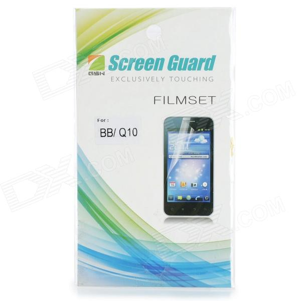 Clear Screen Protector Film for BlackBerry BB / Q10