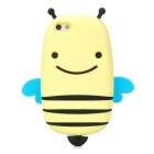 GOMI Cute Cartoon Bee Style Protective Silicone Back Case for Iphone 5 - Yellow