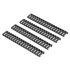 21mm Weaver Rail for Hunting Guns - Black