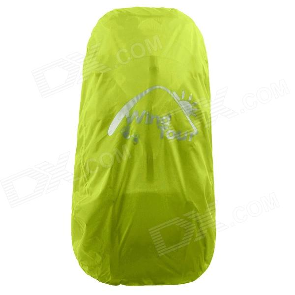 Wind Tour Folding Protective Backpack Rainproof Cover - Green (15~30L)