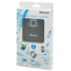 Bluetooth V2.0 Wireless Music Receiver / FM Radio Transmitter - Black