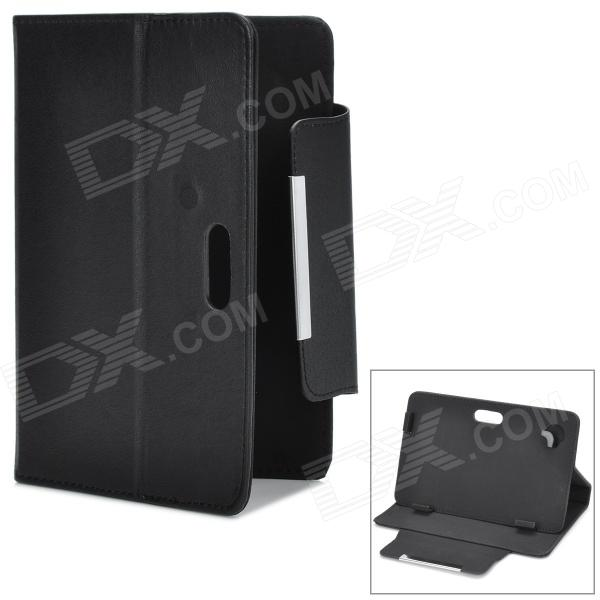 Protective PU Leather Flip-open Case w/ Stand for 7