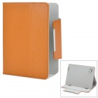 "Protective PU Leather Flip-open Case w/ Stand for 8"" Tablets - Brown"