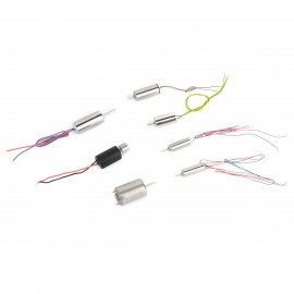 KD-7 Coreless Motor for Model Aircraft Helicopter - Silver (7 PCS)