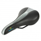 CIONLLI 6517-B Cycling Bike Bicycle Seat Saddle - Silver + Black