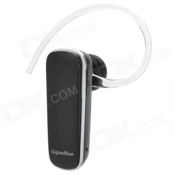 BH701 Bluetooth V3.0 Earbud Headset w/ Microphone + Single-ear Earphone - Black + Silver