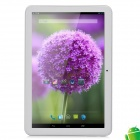 "CASZH T10 10.1"" IPS Quad Core Android 4.2 Tablet PC w/ SIM / 1GB RAM / 16GB ROM - White + Silver"