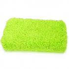 2-in-1 Microfibre Car Washing & Dry Sponge Pad - Green