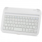 CB Convenient Ultra-thin 59-key Bluetooth V3.0 Keyboard for Samsung Note8 / N5100 - White