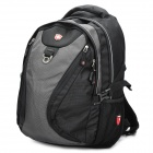SWISSKING SK6313 Polyester Laptop Backpack for ThinkPad T420 / T430 - Grey + Black