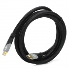 HD1304 Universal HDMI V1.4 Male to Male High Definition Connecting Cable - Black + Gray (200cm)