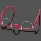 Glasses Style Plastic Double-fold Eyelid Maker - Deep Pink