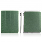 ENKAY ENK-3137 Protective PU Leather Case Stand for Ipad 2 / 3 / 4 - Green