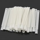 Nail Art Color Tips Practice & Display Sticks - White (50 PCS)