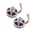 HJ5005 KV800 Disk Brushless Outrunner Motor with Mounting for RC Quad-copter (2 PCS)