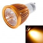 Ziyu ZY-648 GU10 5W 500lm 3000K Warm White Light COB LED Glühbirne - Golden + White (85 ~ 265V)