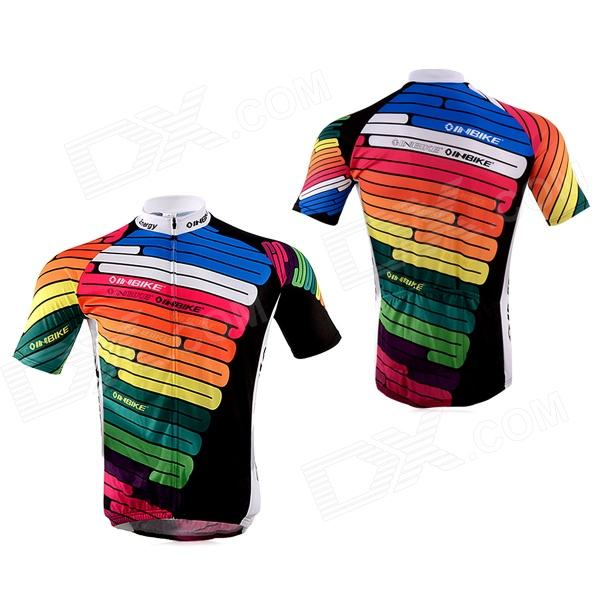 ... INBIKE IA360 Bicycle Cycling Short Sleeves Jersey + Shorts Set -  Multicolored (Size XXL) ... 74b9da5c0