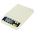 "weiheng B07 2.0"" LED Electronic Digital Kitchen Scale - Beige (3kg / 0.5g / 2 x AAA)"
