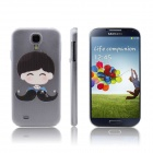 ENKAY Boy Pattern Protective PC Back Case for Samsung Galaxy S4 i9500 - Multicolored