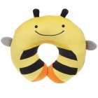 Cute Bee Style U Type Neck Pillow - Yellow + Black + Orange
