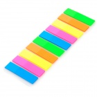 M&G YS-22 PET Office / School Fluorescent Highlight Self-adhesive Stickers - Multicolored (200 PCS)
